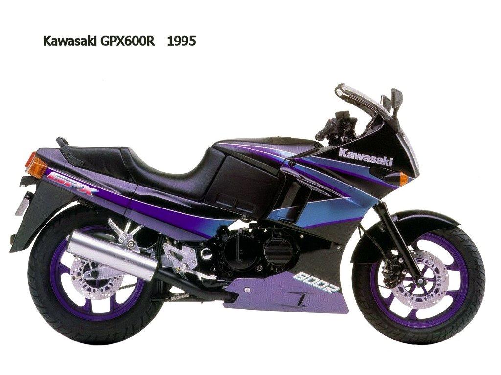 Kawasaki GPZ600R i GPX600R